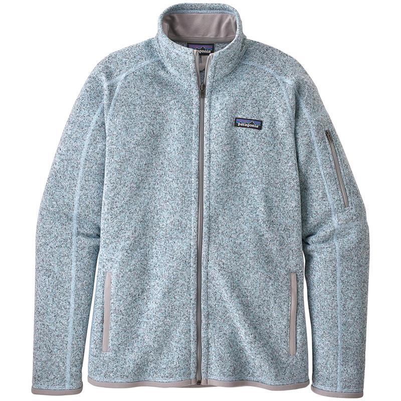 Patagonia Better Sweater Jkt L Fleecejakke, Hawthorn Blue, dame
