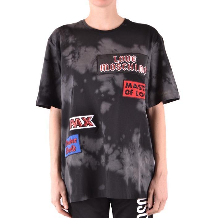 Love Moschino Women's T-Shirt Black 166598 - black 38