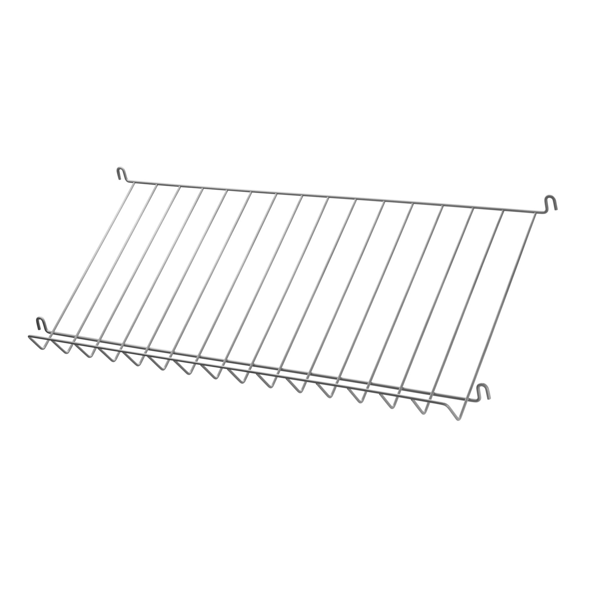 String Tidskriftshylla 78x30 grå