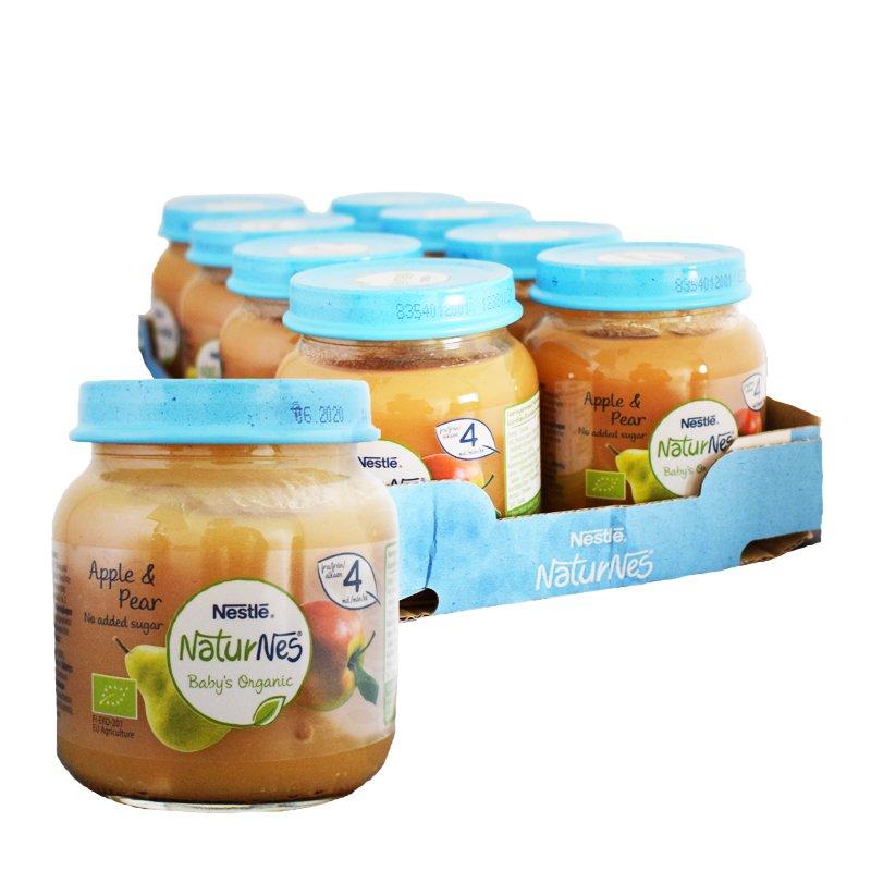 Luomu Lastenruoka Omena & Päärynä 8kpl - 26% alennus