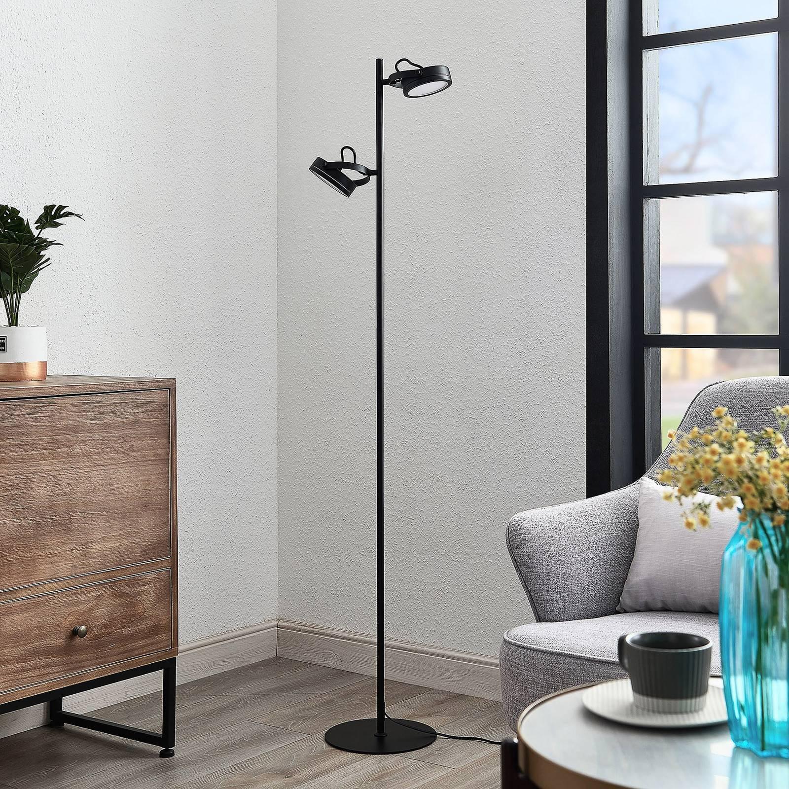 Lindby Omila -LED-lattiavalo, 2-lamppuinen