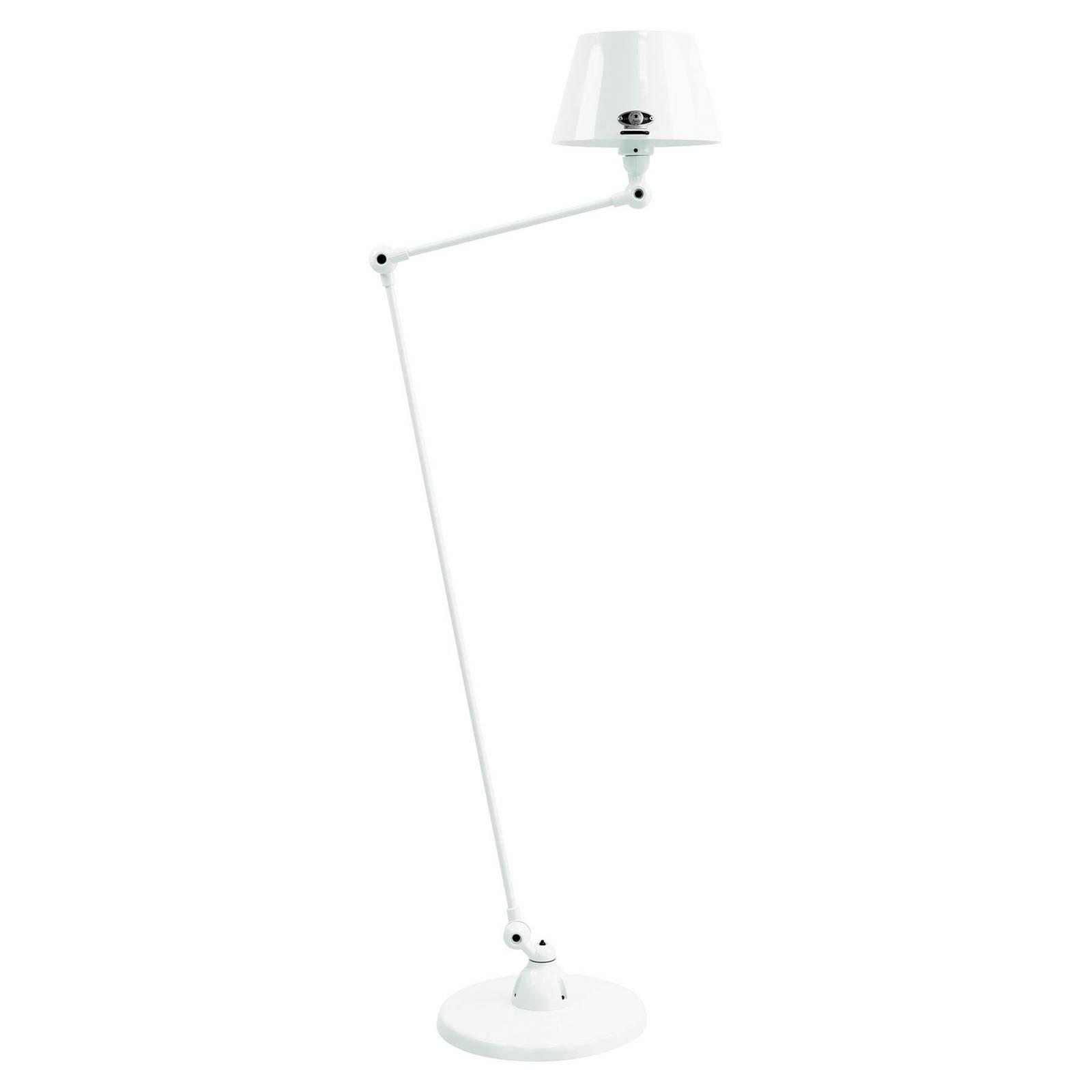 Jieldé Aicler AID833 gulvlampe, 80+30 cm, hvit
