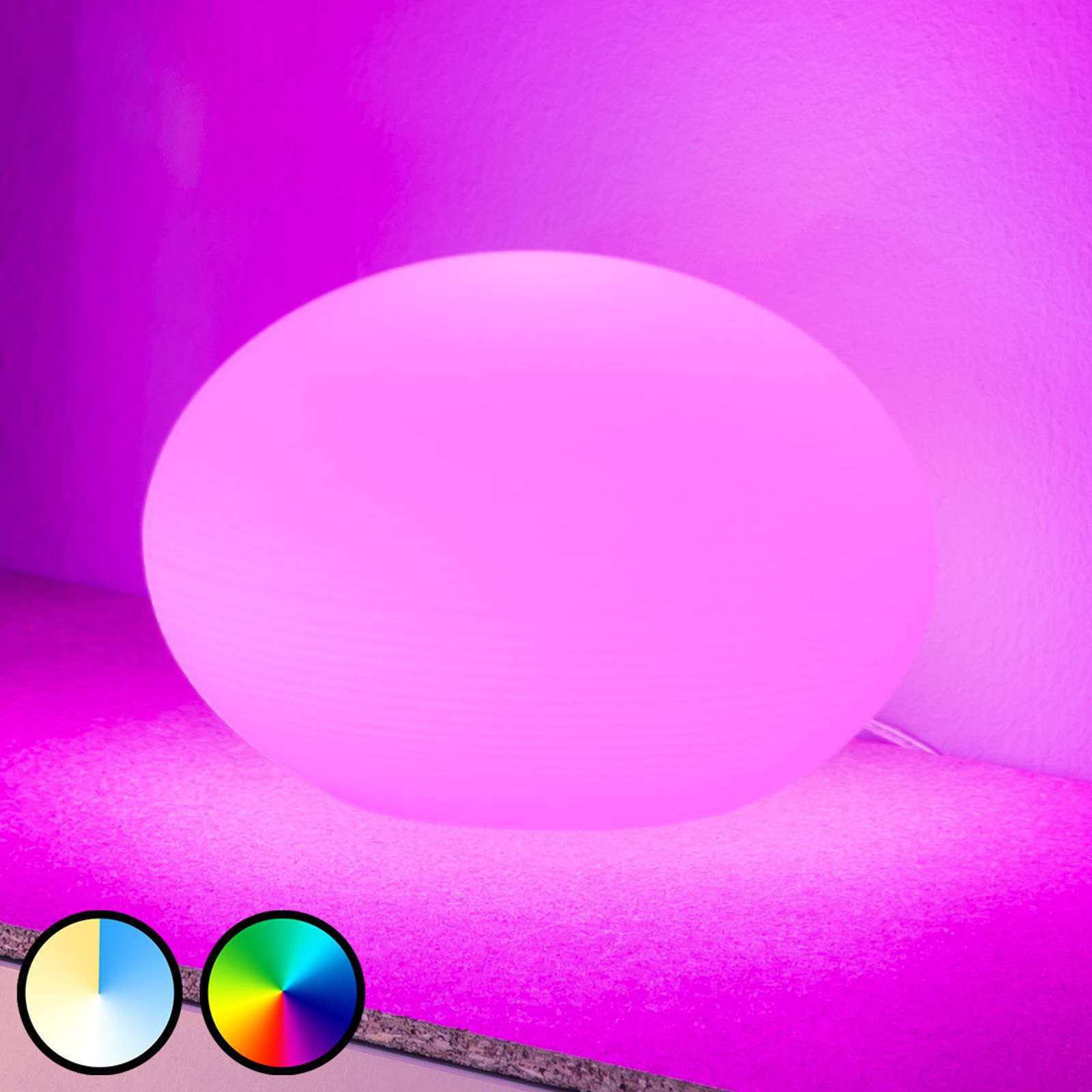 Philips Hue Flourish LED-bordlampe, RGBW
