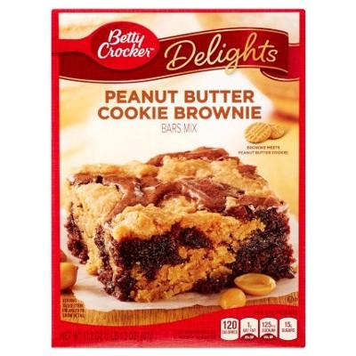 Betty Crocker Peanut Butter Brownie Mix 488g