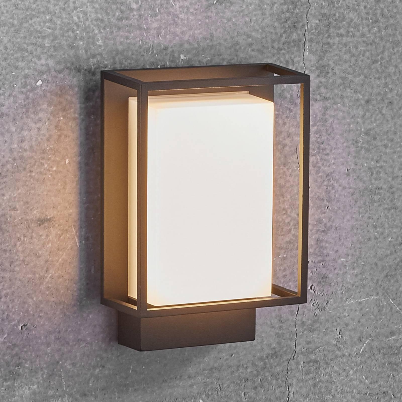 LED-ulkoseinälamppu Nestor ilman liiketunnistinta