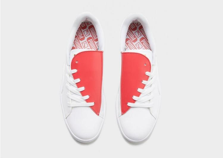 Puma Women's Basket Crush Trainers Various Colours 4060979778740 - 4 UK White Red
