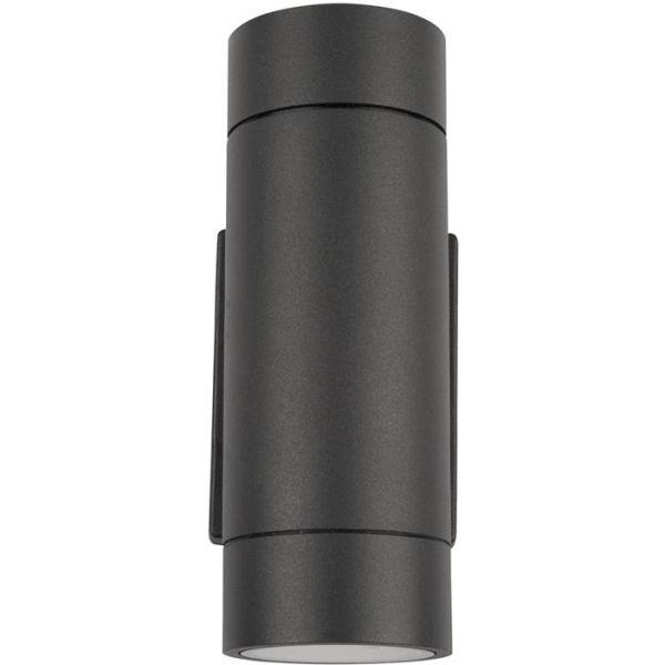 Hide-a-Lite Milo II GU10 Veggarmatur IP55 Antrasitt