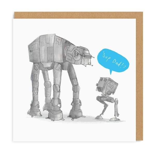 'Sup Dad Square Greeting Card