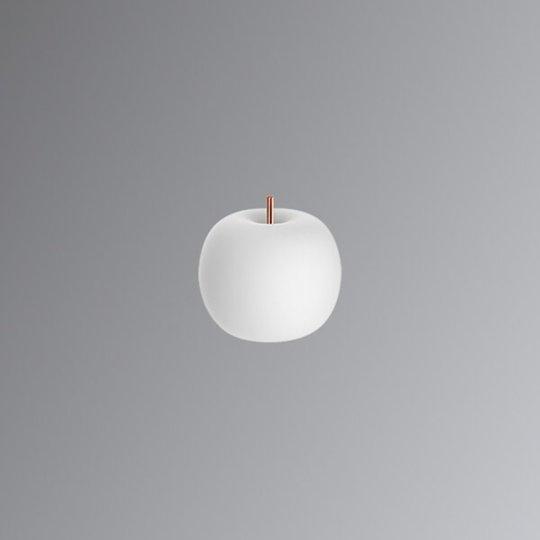 Kundalini Kushi – LED-pöytävalaisin kupari 16 cm