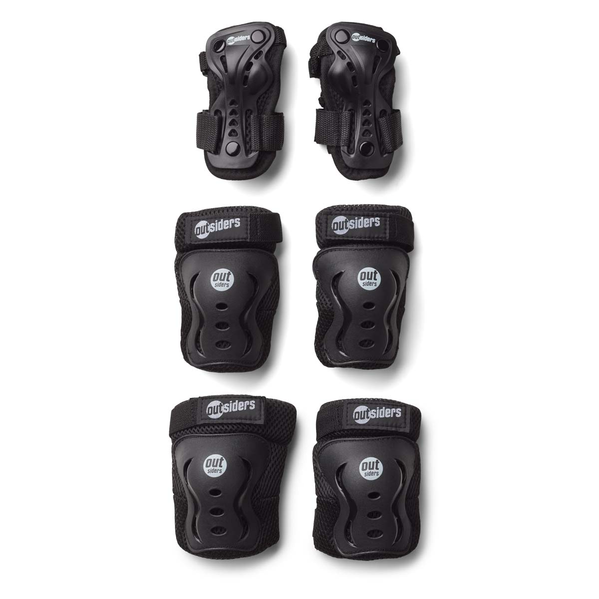 Outsiders - Deluxe Safety Equipment Set - Wrist, Knee, Elbow (M)