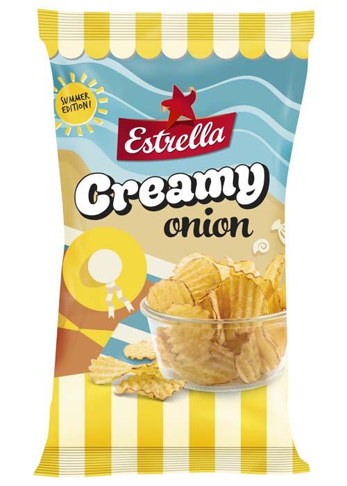 Creamy onion chips summer edition 175g