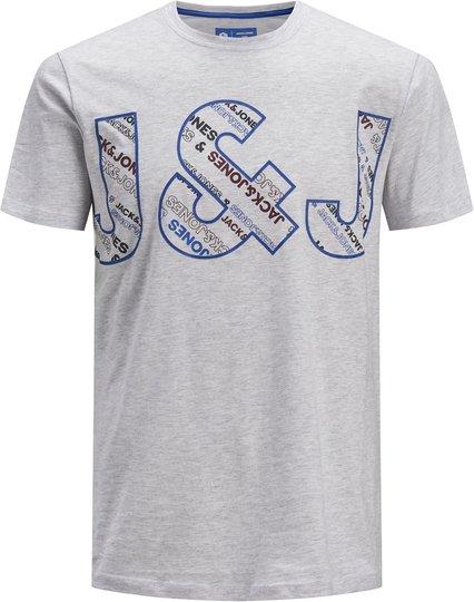 Jack & Jones Bo T-Shirt, White Melange 152