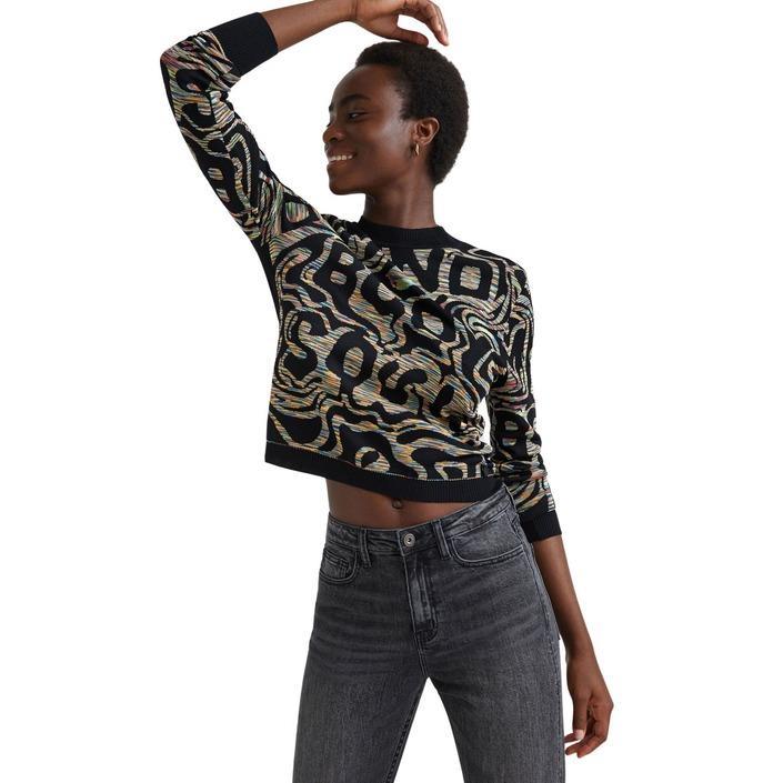 Desigual Women's Sweater Black 319829 - black XL
