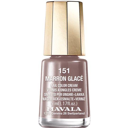 Mavala Nail Color Cream, 151 Marron Glacé, 5 ml Mavala Värilakat