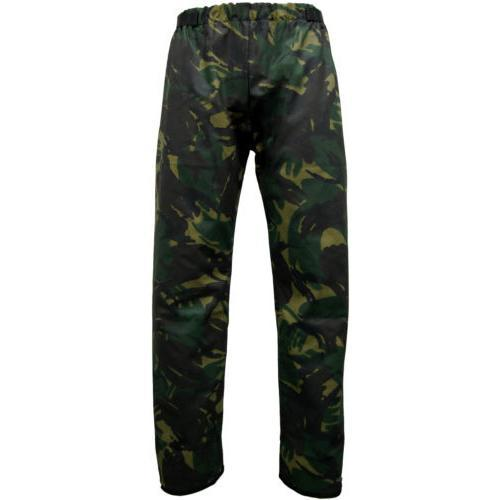 Game Technical Apparel Unisex Forrester Trousers Black Camo - XXL