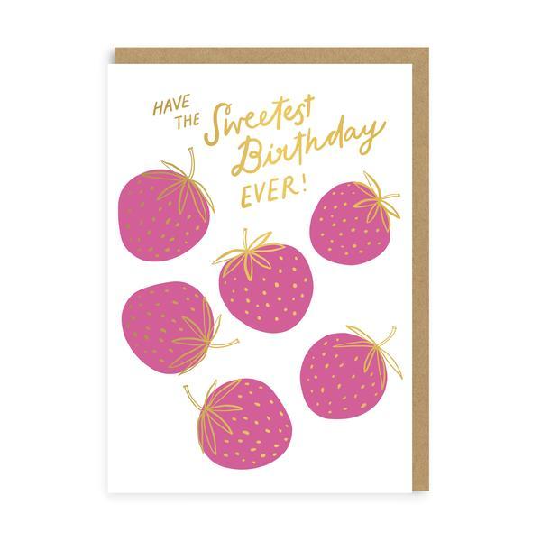 Sweetest Birthday Greeting Card
