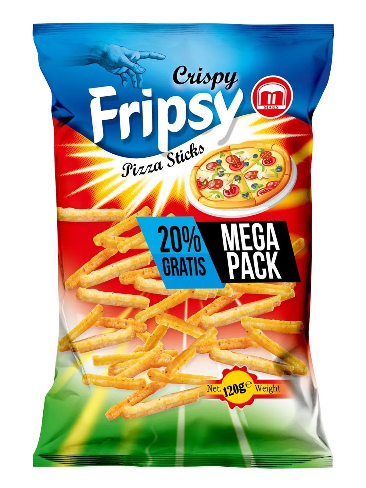 Crispy Fripsy Pizza 120g