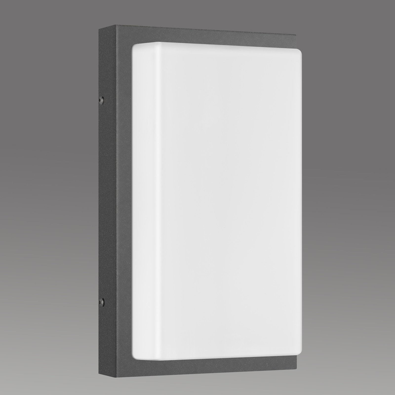 Babett E27 utendørs vegglampe uten sensor grafitt