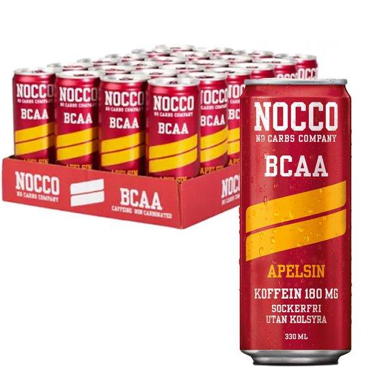 Hel Platta BCAA-Dryck Apelsin 24 x 330 ml - 65% rabatt
