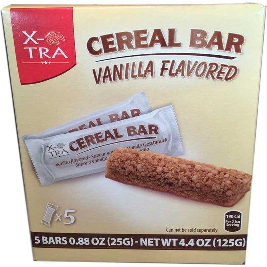 Cereal Bar Vanilj - 65% rabatt