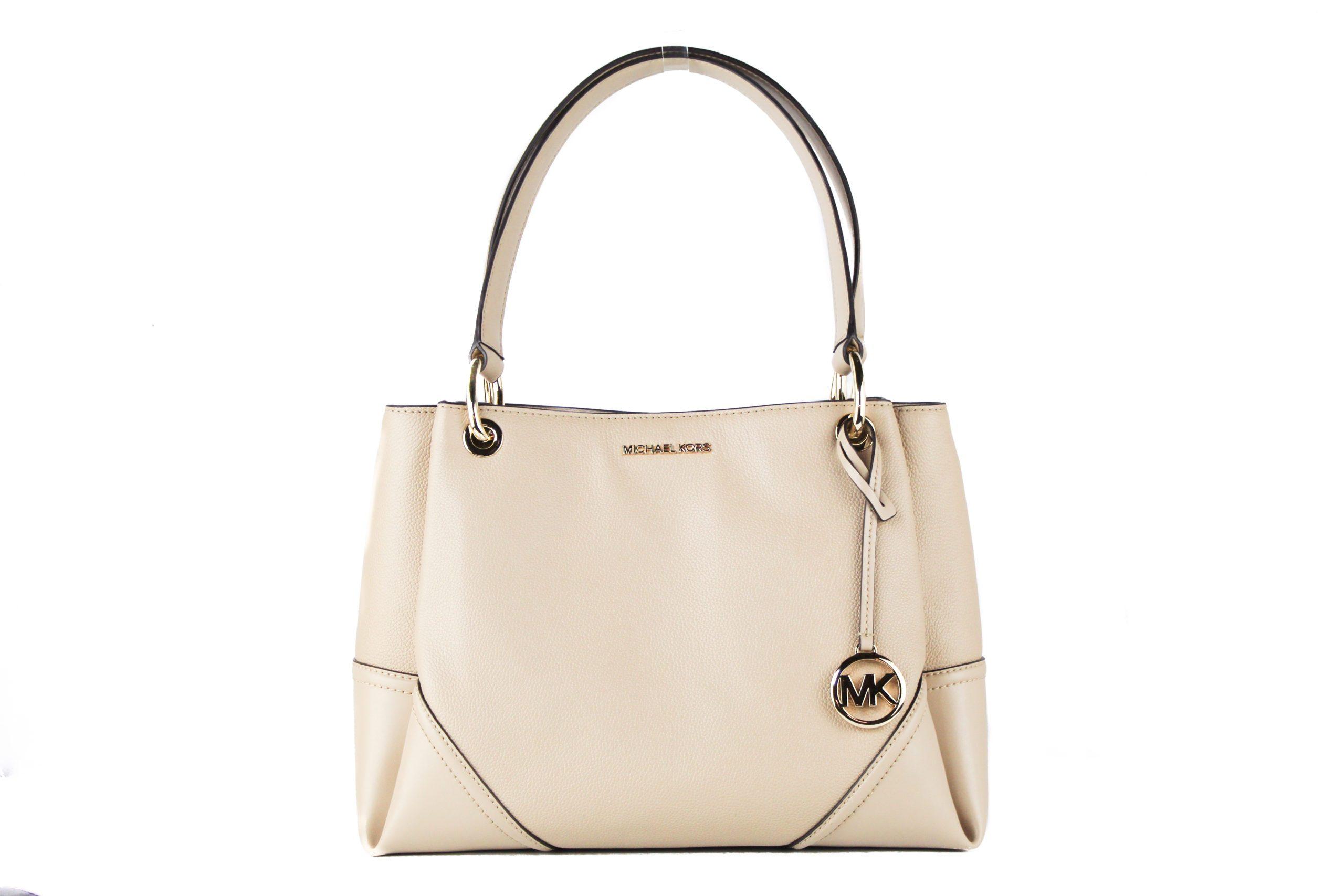 Michael Kors Women's Nicole Tote Bag Beige 39761