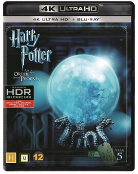 Harry Potter 5 - And the Order of the Phoenix (4K Blu-Ray)
