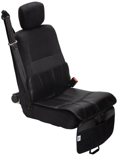AVA Setetrekk til Framovervendt Bilstol, Leather, Black