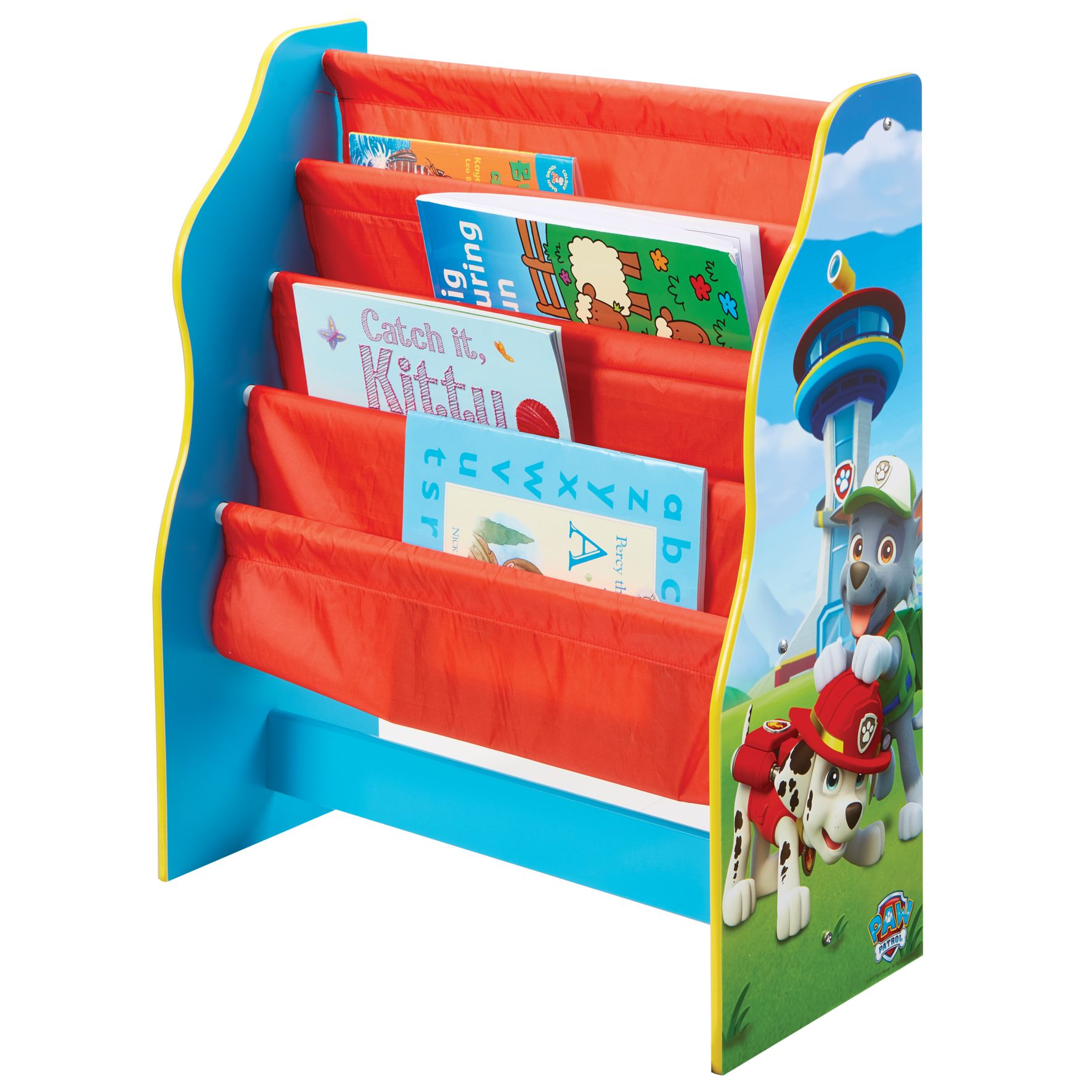 Paw Patrol - Kids Sling Bookcase (470PTR01E)