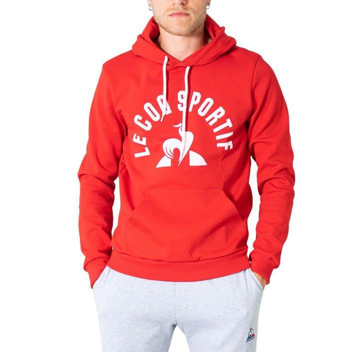 Le Coq Sportif Men's Sweatshirt Red 305010 - red S