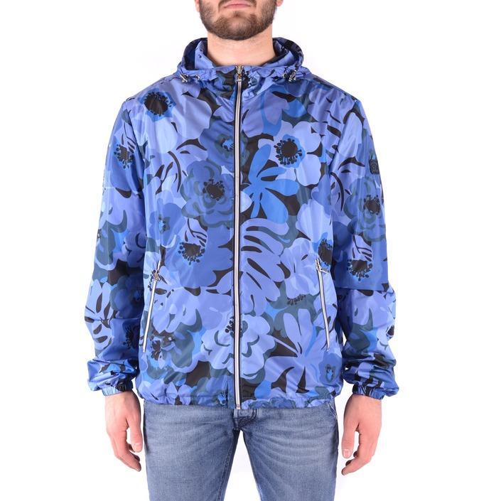 Paul&shark Men's Jacket Blue 161632 - blue L