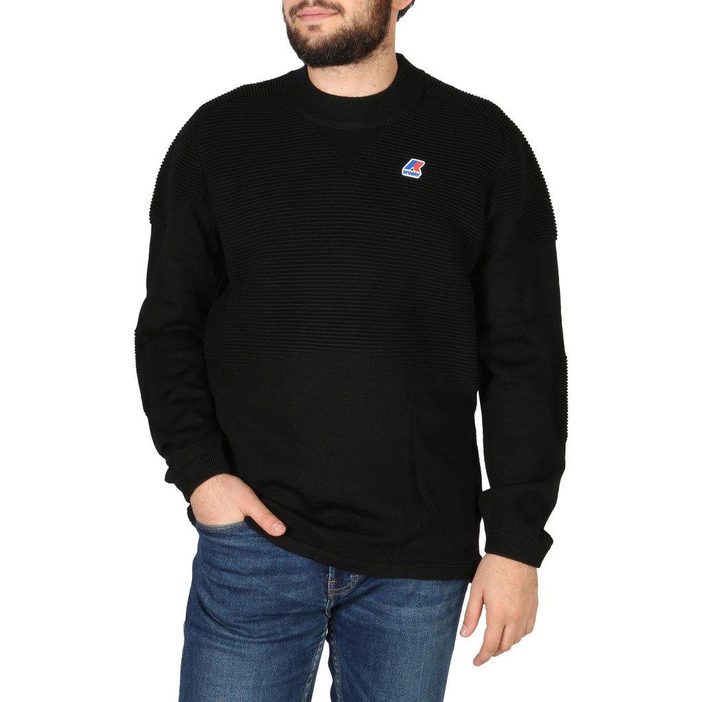 K-Way Men's Sweater Black K001NMO - black XXL