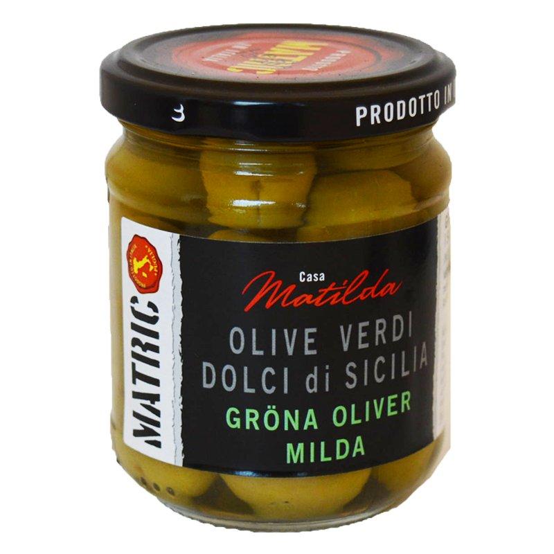 Oliivit, vihreä 120 g - 38% alennus