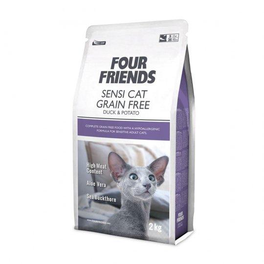 FourFriends Cat Sensi Cat Grain Free Duck & Potato (2 kg)