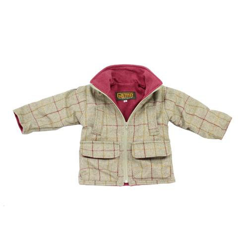 Game Technical Apparel Kid's Jacket Various Colours Stornsay Tweed - Pink 11 to 12 Years