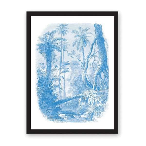 Jungle Print Riso Print