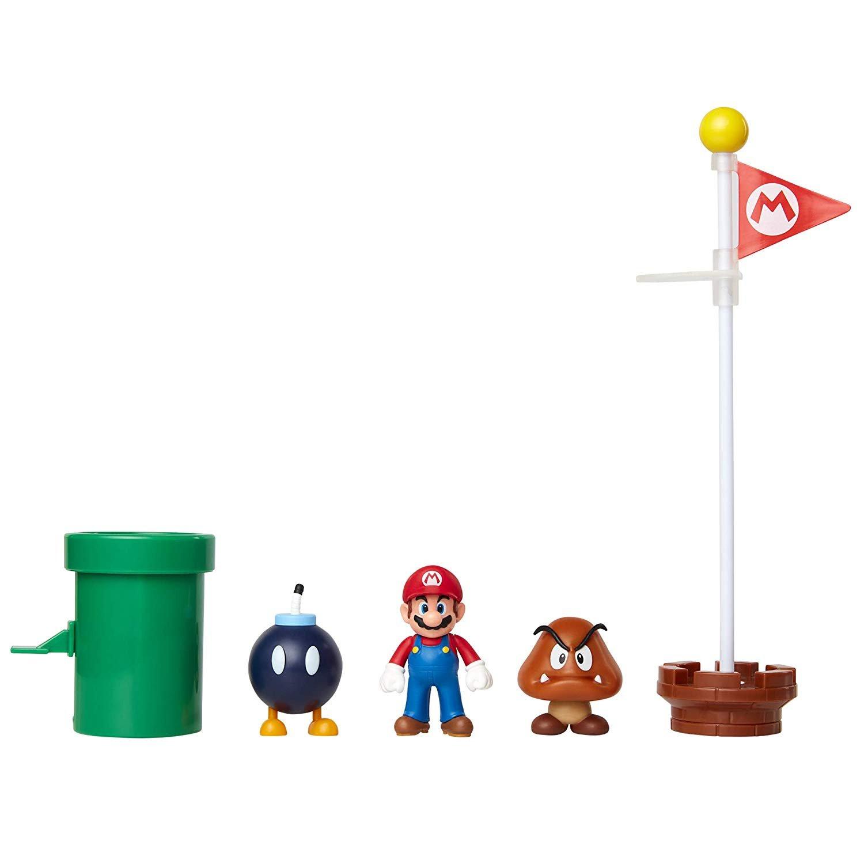 Super Mario - Acorn Plains Diorama Set (85987)