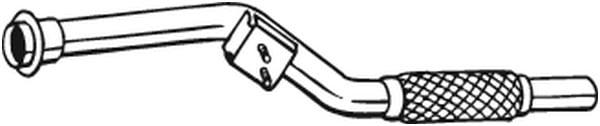 Pakoputki BOSAL 800-003