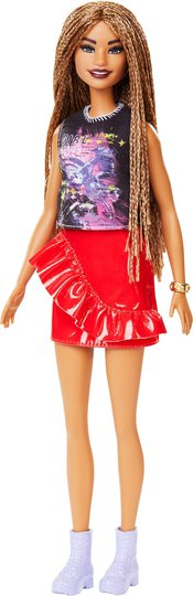 Barbie Fashionistas Dukke 123 Rock and Red