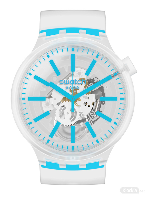 SWATCH Blueinjelly 47mm SO27E105