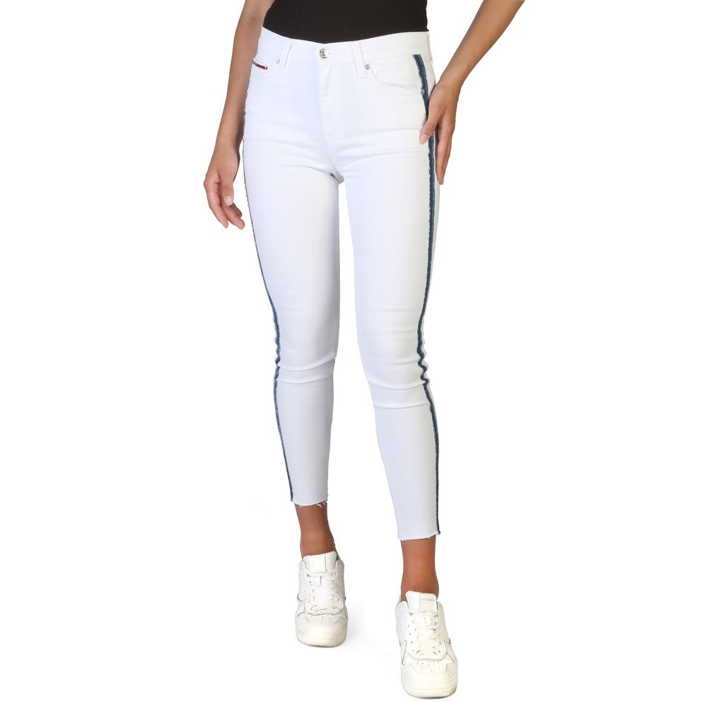 Tommy Hilfiger Women's Jeans White DW0DW06344 - white 24