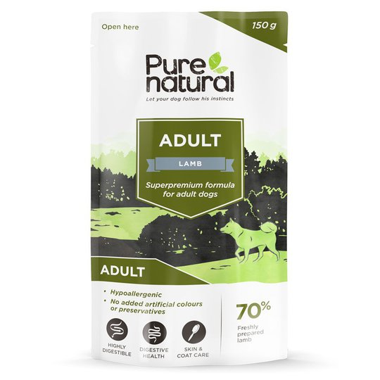 Purenatural Dog Adult Lamb