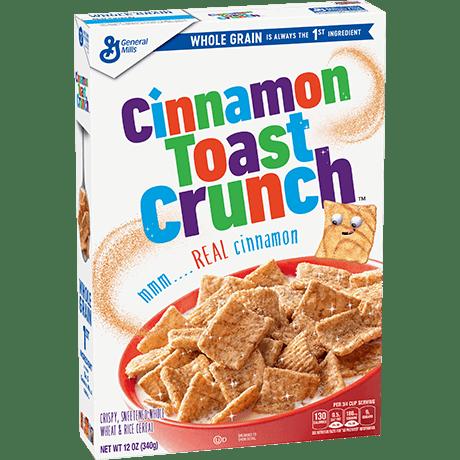 Cinnamon Toast Crunch cereal 340g