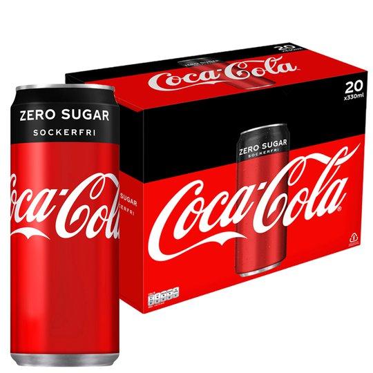 Coca-Cola Zero 20-pack - 31% rabatt