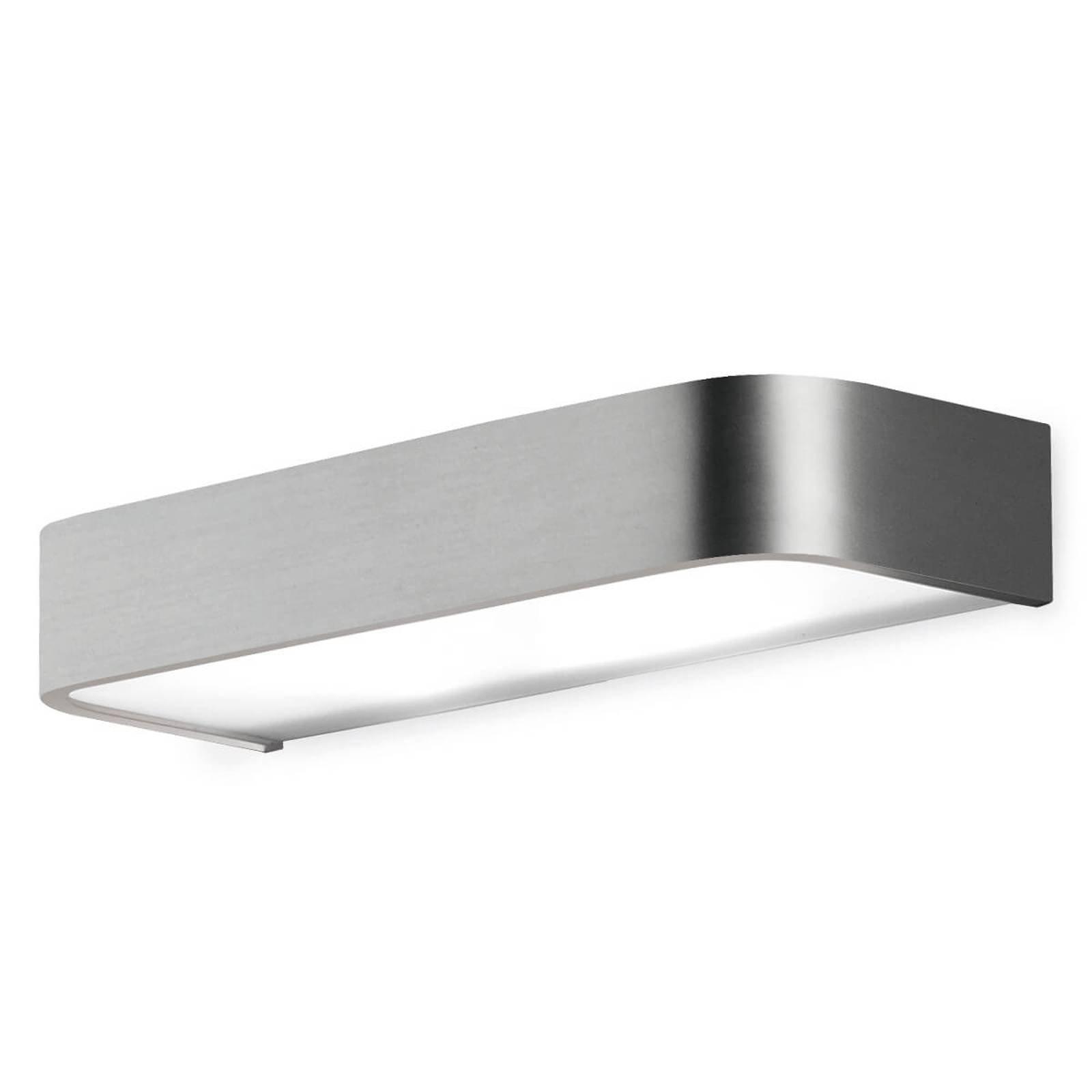Baderom-vegglampe Arcos med LED, 30 cm nikkel