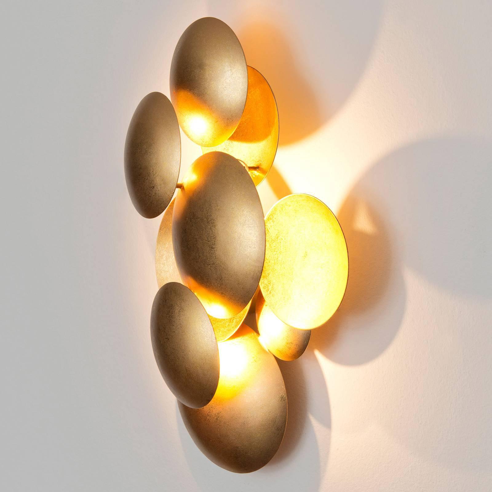 LED-vegglampe Bolladaria, 3 lyskilder