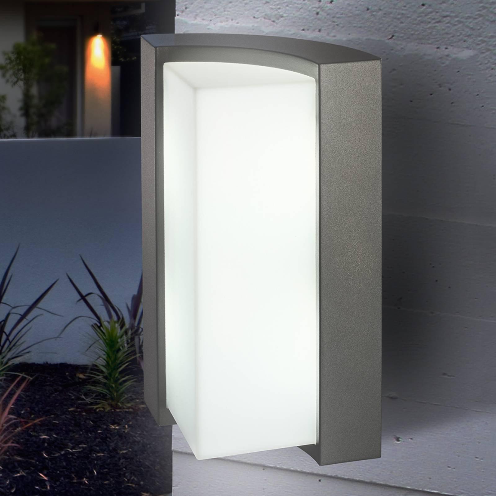 Tidsriktig TIRANO yttervegglampe med LED, antr