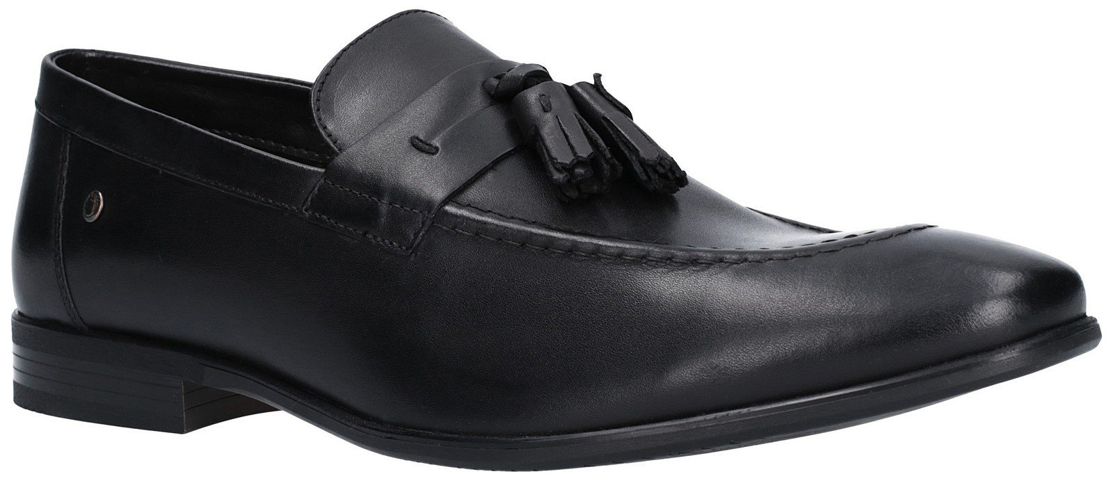 Base London Men's Ritz Waxy Loafer Black 27262 - BLACK 6
