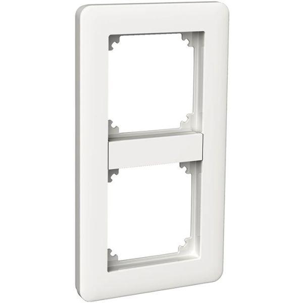 Schneider Electric Exxact Primo Kombinasjonsramme hvit, blank 2 rom
