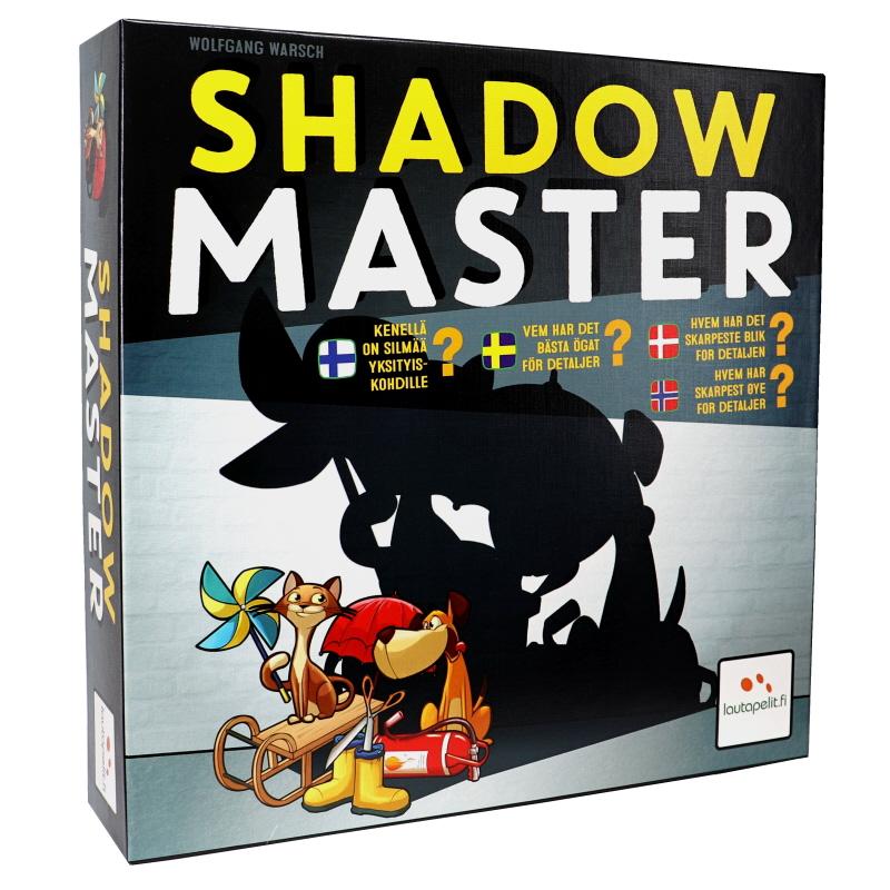 Shadow Master, lautapeli - 73% alennus
