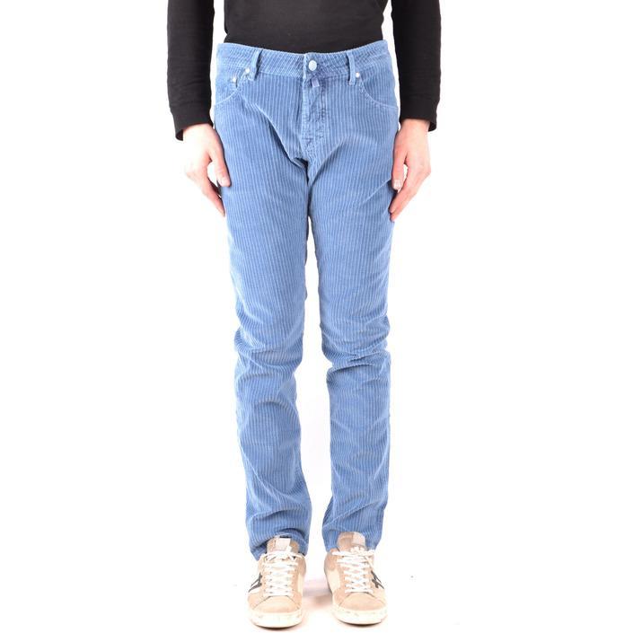 Jacob Cohen Men's Trouser Blue 166967 - blue 35